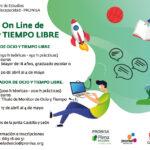 PRONISA oferta dos cursos online de ocio y tiempo libre