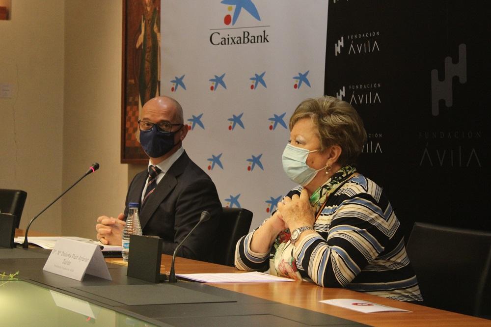CaixaBank y Fundación Ávila apoyan los proyectos sociales de 25 asociaciones asistenciales de la provincia