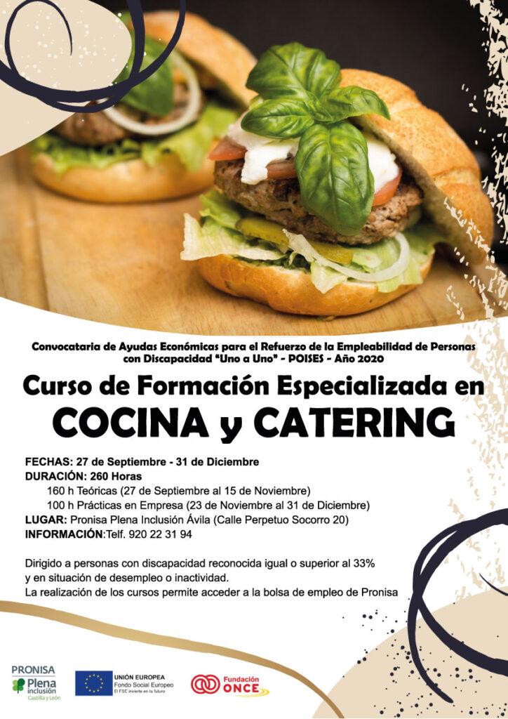 Curso de Formación Especializada en Cocina y Catering